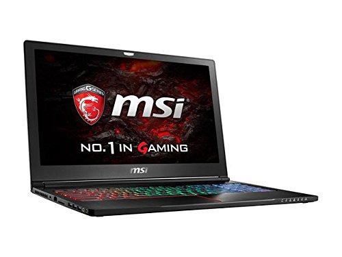 Image MSI 15.6'' GS63VR Stealth Pro-041 Intel Core i7 6700HQ (2.60 GHz) NVIDIA GeForce GTX 1060 32 GB Memory 128 GB SSD 1 TB HDD Windows 10 Home 64-Bit Gaming Laptop VR Ready no. 1