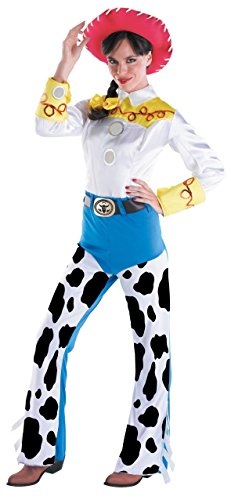 Deluxe Jessie Costume - Large - Dress Size 12-14 (Childs Deluxe Cowgirl Costume)