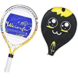 Weierfu Junior Tennis Racket for Kids Toddlers Starter Racket 17-21 with Cover Bag Light Weight(Strung)