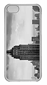 iPhone 5C Case, Personalized Custom Empire State Building 4 for iPhone 5C PC Clear Case by mcsharks