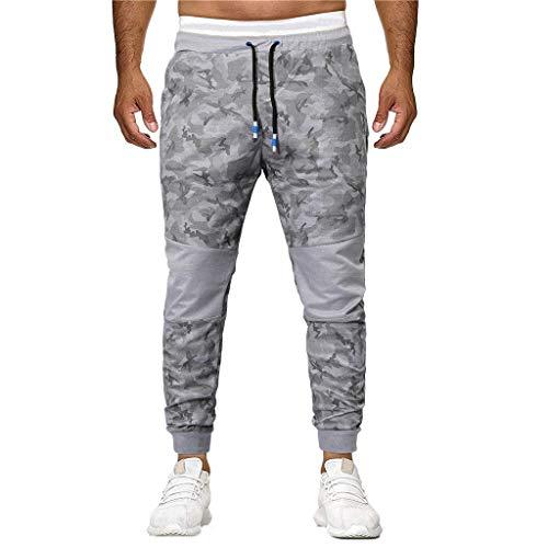 Chino De Survêtement Taille Sport 4xl Camouflage Pyjamas M Homme Grande Jogging Solike Gris Décontracté Pantalons Fq5wCCz
