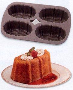 Nordicware Bundt Non-Stick Mini Loaf Pan