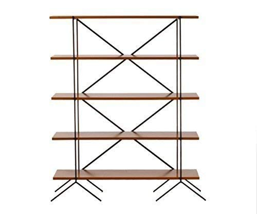 (The Townhouse, Mid-century Retro style shelving and storage bookcase.)