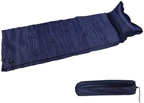 Generic Brands Bewegliche Roll selbst aufblasende Kissen Luftmatratze Picknick-Strand-Matten-Auflage Einzelschlafenbett Aufblasbare Outdoor-Camping-Mat Für Camping Wandern Beach-Reisen