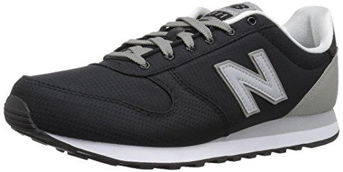 New Balance Men's 311v1 Sneaker, Black/Marblehead, 9 D US