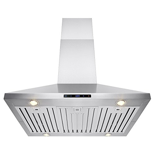 """Price comparison product image FIREBIRD 36"""" Stainless Steel Island Mount Powerful Cooking Fan Kitchen Vent Range Hood"""