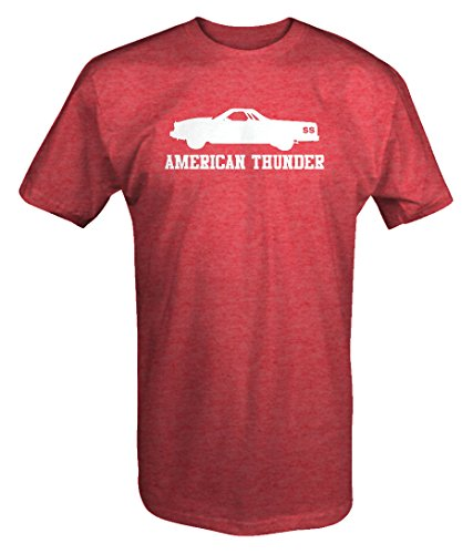 American Thunder SS El Camino 454 V8 Muscle Car T shirt -Medium