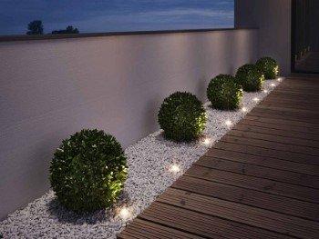 Khl Set De 6 Spots Led Terrassenlampen Bodenlampen Entree