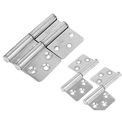 (LICTOP Two Leaves Flag Hinge Lift Off Detachable Stainless Steel Hinges 3-inch,4 Pcs)