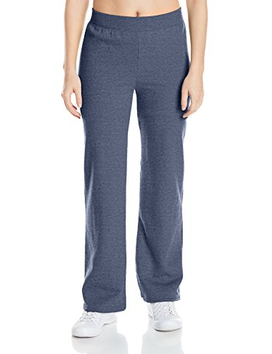 Hanes Women's EcoSmart Sweatpant - Regular and Petite Lengths, Hanes Navy Heather, Large (Clothes Women Sale)