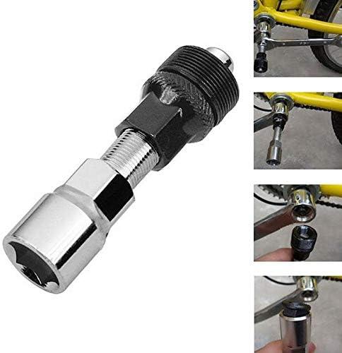 cortador de cadena de bicicleta//extractor de cadena//extractor de pi/ñ/ón libre//extractor de manivela Kit de herramientas de reparaci/ón para bicicleta de monta/ña Haudang