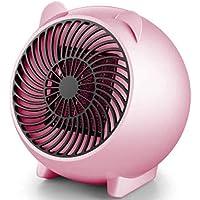 CHOUREN Mini Portable Electric Heater Office Mini Fan Heater Pink US