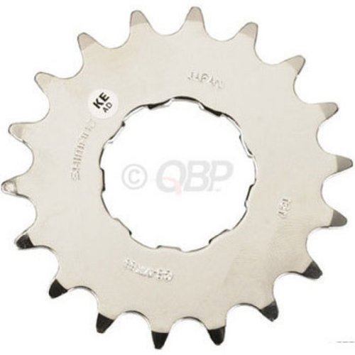 Shimano CS-MX66 DX Bicycle Cassette Cog (18T, Silver)