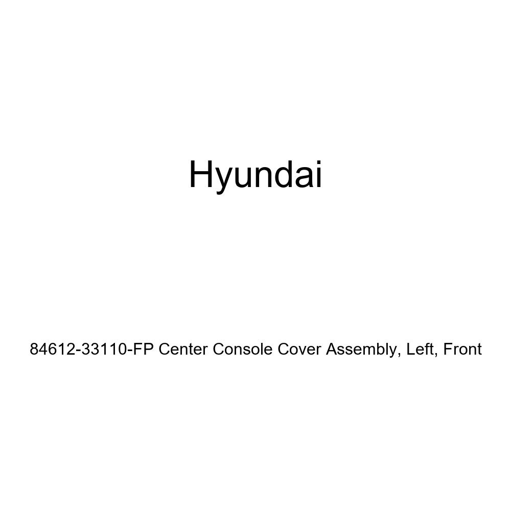 Left Genuine Hyundai 84612-33110-FP Center Console Cover Assembly Front