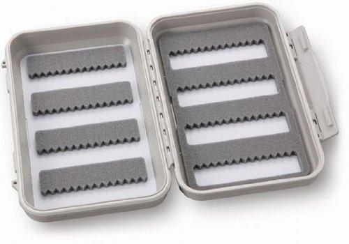 C&F Design CF-2544 Medium Waterproof Micro Slit Foam 4/4 Rows Fly Box (10 Slit Micro Row)