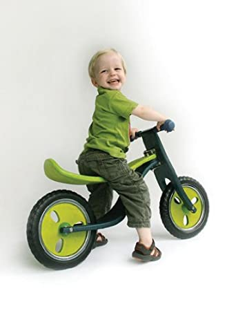 Corre pasillos Hoppop 34130015 Locco 4 ruedas color gris y lima