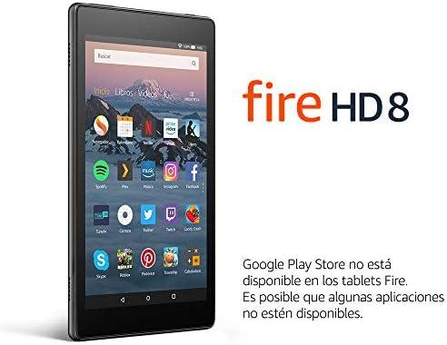 Tablet Fire HD 8 | Pantalla HD de 8 pulgadas, 16 GB, negro, incluye ofertas especiales (8ª generación - modelo de 2018): Amazon.es