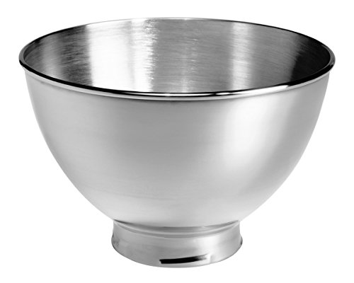 KitchenAid KB3SS 3-Quart Stainless Steel Bowl for Tilt-Head Stand (3 Quart Mixing Base Bowl)