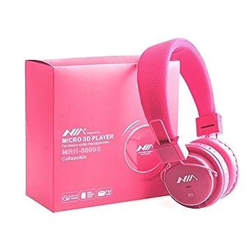 Auriculares inalámbricos de Calidad Plegables con Bluetooth, estéreo, Manos Libres, con micrófono para