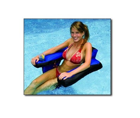 NT123 Fabric Covered U-Seat Pool Float