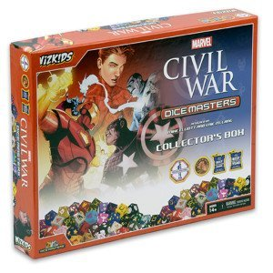 Marvel Dice Masters: Civil War Collectors - Dice Masters Case