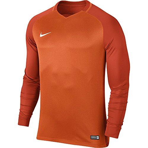 team Dry Trophy Jsy Homme Nike Maillot Ls Iii Nk Orange white Orange Safety M tqFBxwBEP