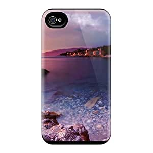 Durable Village In The Cove Back Case/cover For Iphone 4/4s