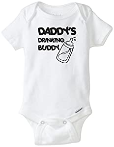 Daddy's Drinking Buddy Onesie Blakenreag Baby Boy