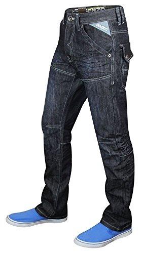 28 48 Custodia Dritta Girovita Taglio Uomo Ez Denim Enzo Wash Jeans A 244 Gamba Regolare dark pFqzTzSw