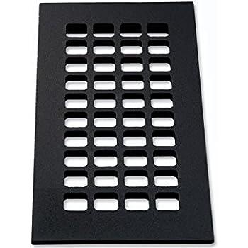 4 Quot X 10 Quot Flat Black Quot Cast Iron Look Quot Cast Aluminum Square