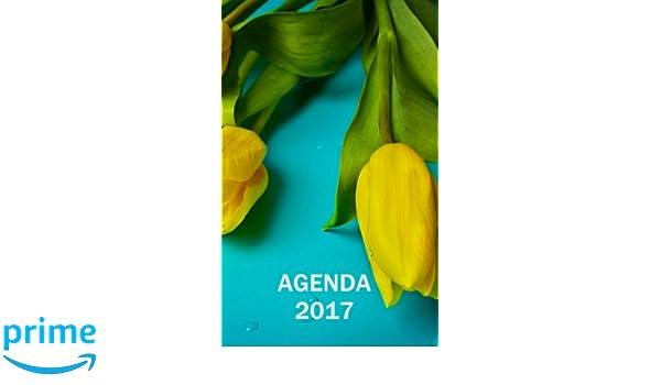 Agenda 2017 - Diseño tulipanes (Spanish Edition): Carolina ...