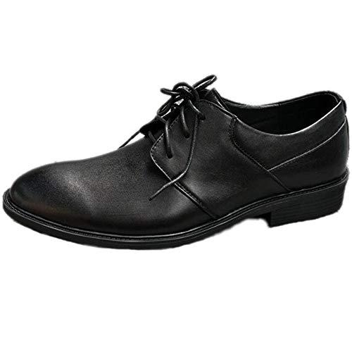Vacuno Primera Capa De Casual Hombres Cuero Piel Black Negocios Zapatos Primavera Para Vestir nHqwRxaA