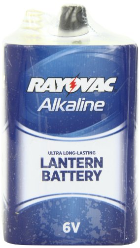 Rayovac Alkaline F 6-Volt Spring Terminal Cell Battery