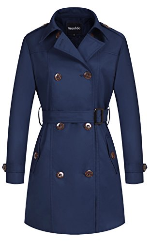 Navy All Weather Coat - 4
