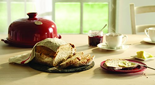 Emile Henry Made In France Flame Bread Cloche, 13.2 x 11.2'', Burgundy by Emile Henry (Image #5)