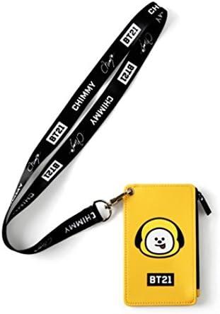 Monopoly BT21 - Soporte para tarjeta de correa, tarjeta de visita, tarjeta de visita, BTS BANGTAN para niños K-POP: Amazon.es: Deportes y aire libre