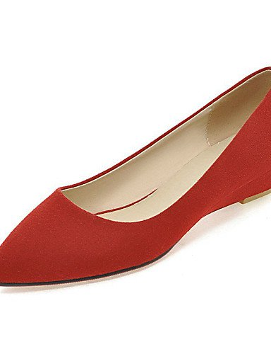 plano cn41 Beige Flats vestido eu40 casual carrera green oficina mujeres señaló rojo zapatos negro PDX verde us9 Toe uk7 y de las talón XFSBq4