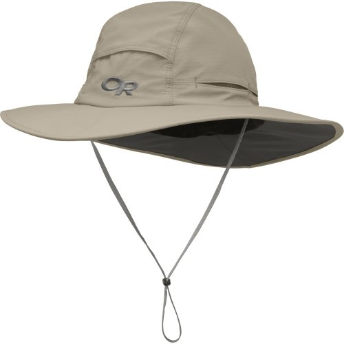 - Outdoor Research Sombriolet Sun Hat, Khaki, Medium