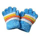 DRAGON SONIC Children Warm Gloves Boys Girls, Five-Finger Gloves(1-3 Years Old),D3