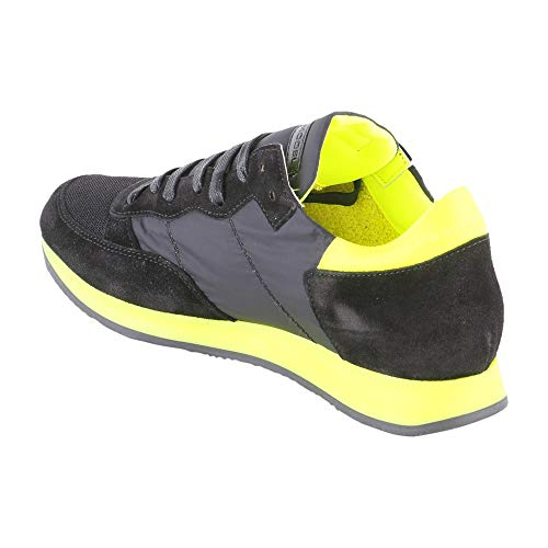 Trldnf02 Model Philippe Sneakers Tessuto Nero Donna qv4tZP7