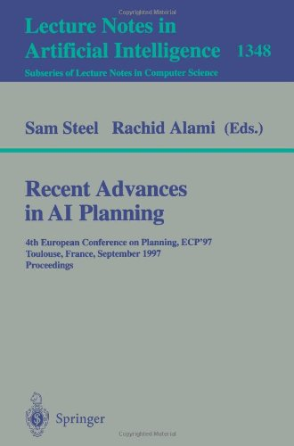 Recent Advances in AI Planning: 4th European Conference on Planning, ECP'97, Toulouse, France, September 24 - 26, 1997,