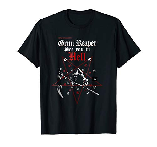 (Mens Grim Reaper- See You In Hell Tee Official Merchandise)