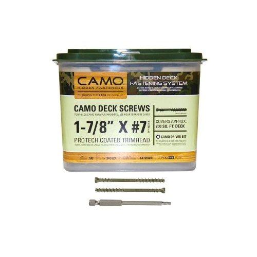 c345139 4,76/cm Camo trimhead Vis avec 1/embout 1750/Nombre