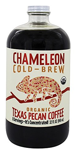 Chameleon Cold Brew Organic Cold Brew Coffee Concentrate Texas Pecan - 32 fl. oz. by Chameleon Cold Brew