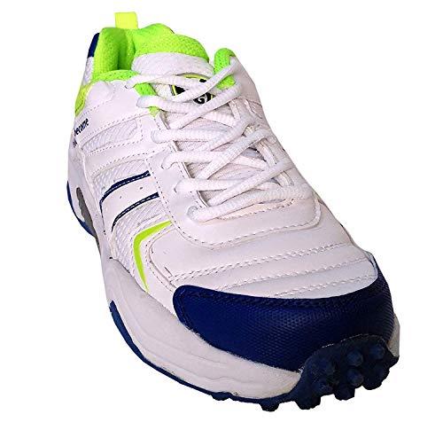 SG Scorer 3.0 Men's Cricket Shoes – White/Lime