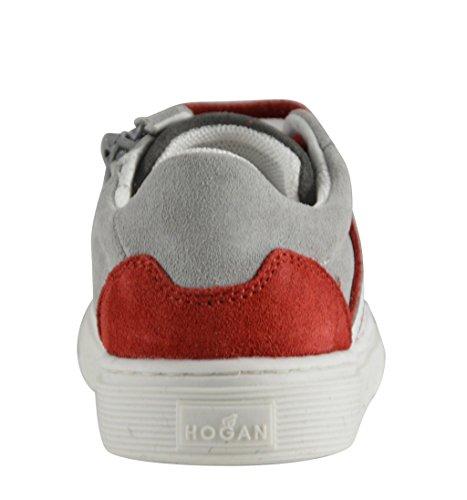Hogan Sneakers Bimbo Primi Passi 1-5 Anni MOD. HXT3400K390HB90PBK Grigia Rossa e Bianca Almacenista Geniue Barato En Línea Precio Barato En Línea 2018 Precio Barato Unisex muK7o2sR
