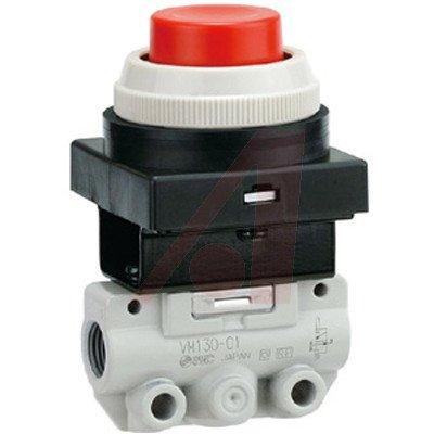 SMC VM130-N01-33A valve - vm (vfm/vzm) mechanical valve family vm body pt 1/8 - mech valve