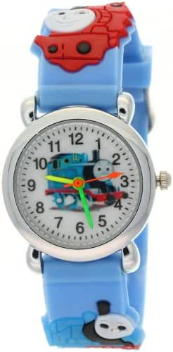TimerMall Silicone Rubber Strap Round Face Kids THOMAS & FRIENDS Fashion Cartoon Analogue Watches