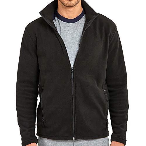 DailyWear Mens Full-Zip Polar Fleece (Full Zip Polar Fleece Vest)