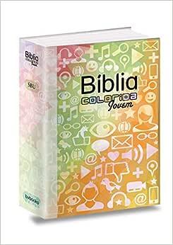 Bíblia Colorida Jovem Redes Sociais